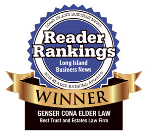Cona Elder Law wins best trust and estate law firm award from Long Island Business News