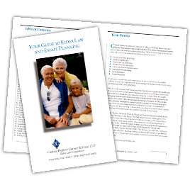 Elder Law Guidebook