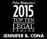 Jennifer B. Cona - 2015 Top 10 Legal Eagles